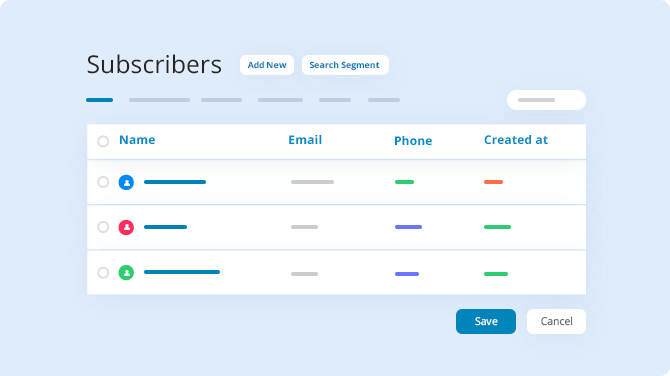 subscriber-management