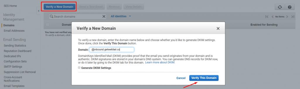 Verify Domain_send bulk emails free
