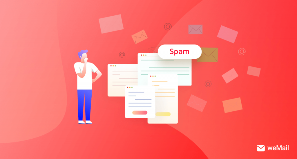 Don't be in spam list in email marketing