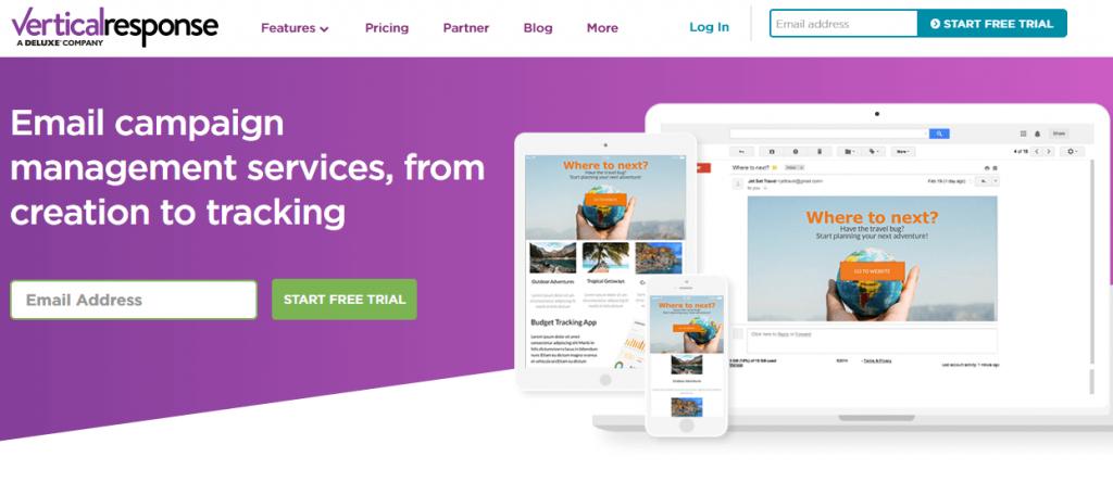 verticalresponse_email marketing tool