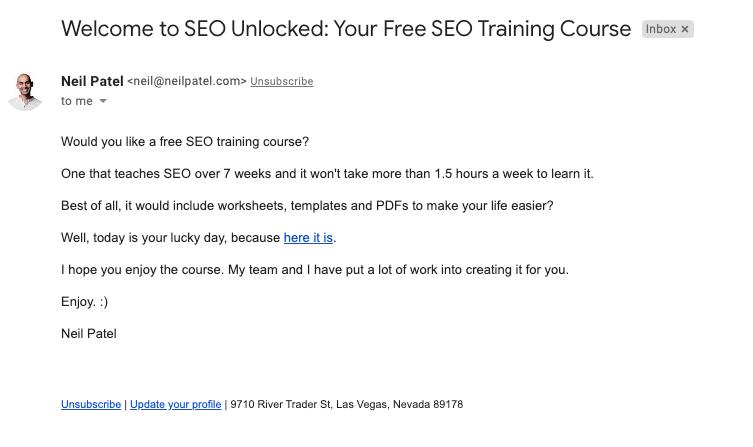 send free courses