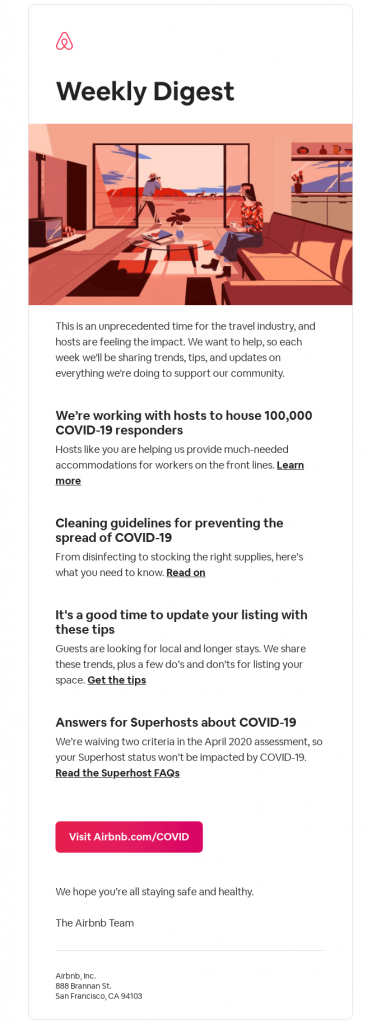 airbnb-Email Deliverability