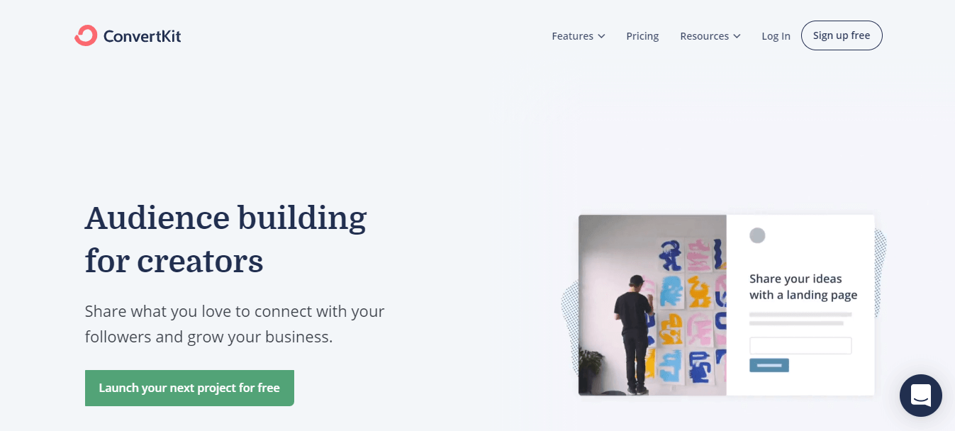 ConvertKit Email-Marketing for Online Creators