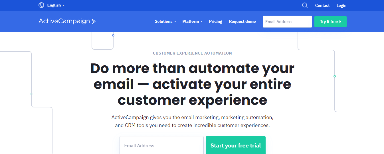 Email Marketing Activecampaign