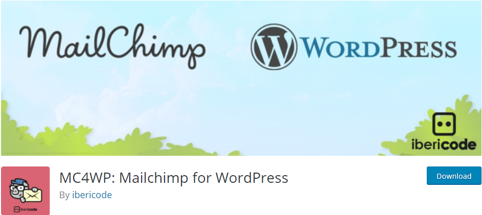 Mailchimp email plugin for WordPress