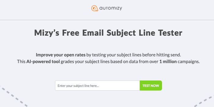 email subject line testing tool