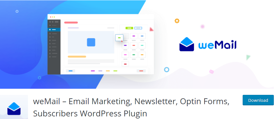 weMail email plugin for WordPress