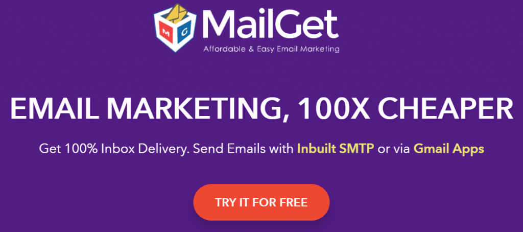 MailGet- Simple yet Effective Email Marketing Solution