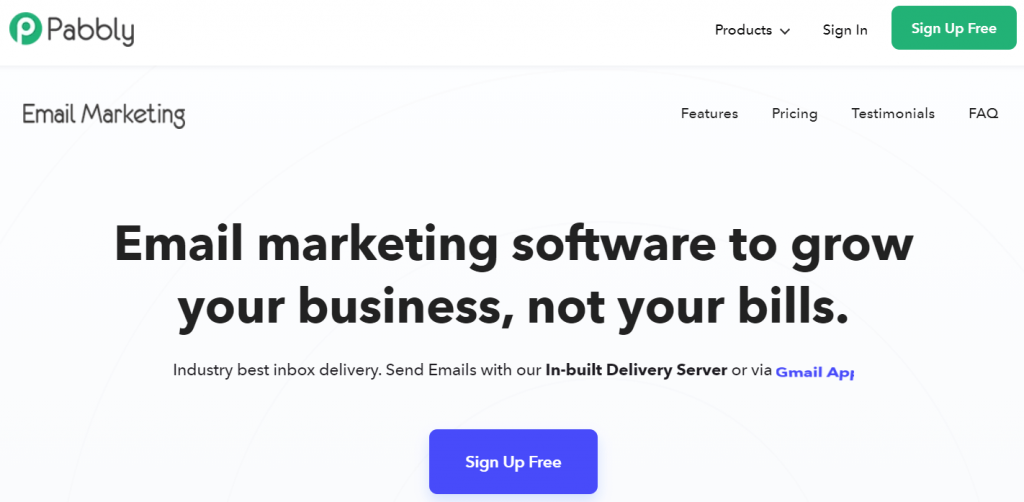 Pabbly- Cost-effective Email Marketing Service