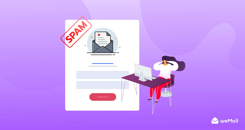 newsletter spam sign up