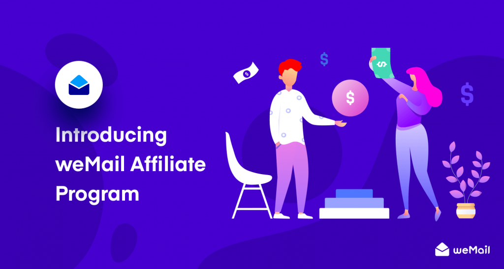 weMail affiliate program