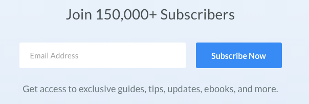 Manage email subscriber easy signup form