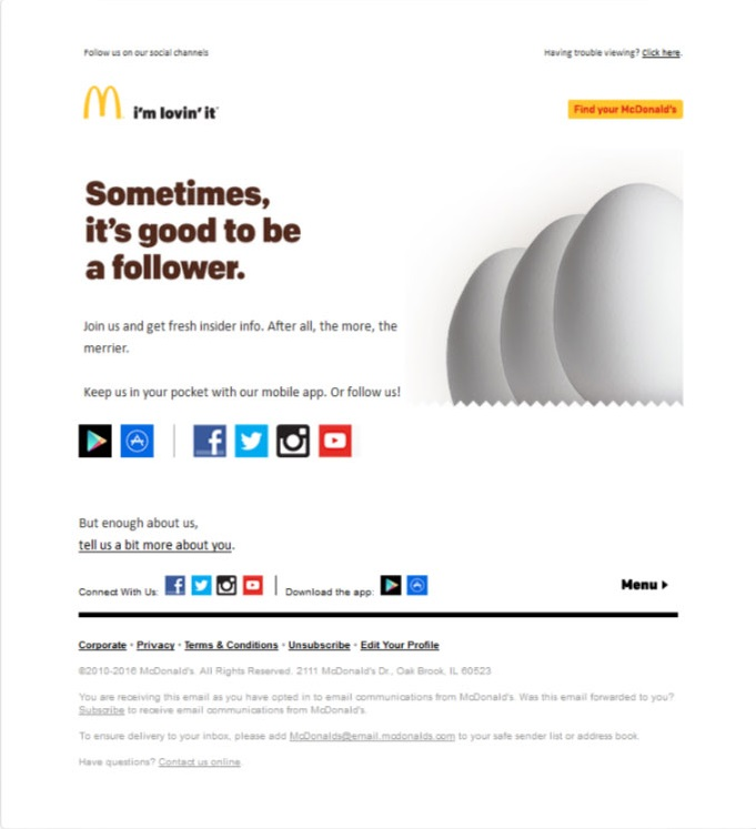 embed social post on email
