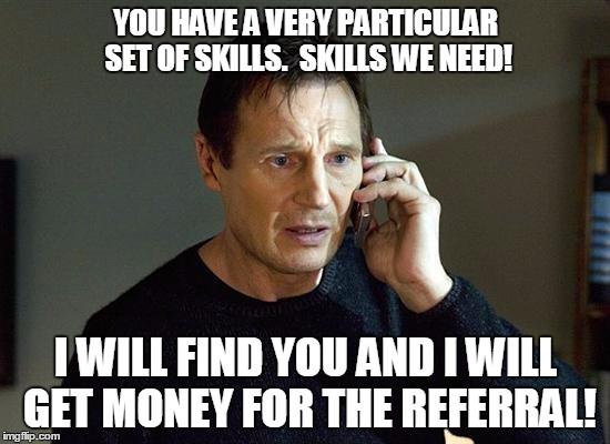 Referral and Loyalty Program meme