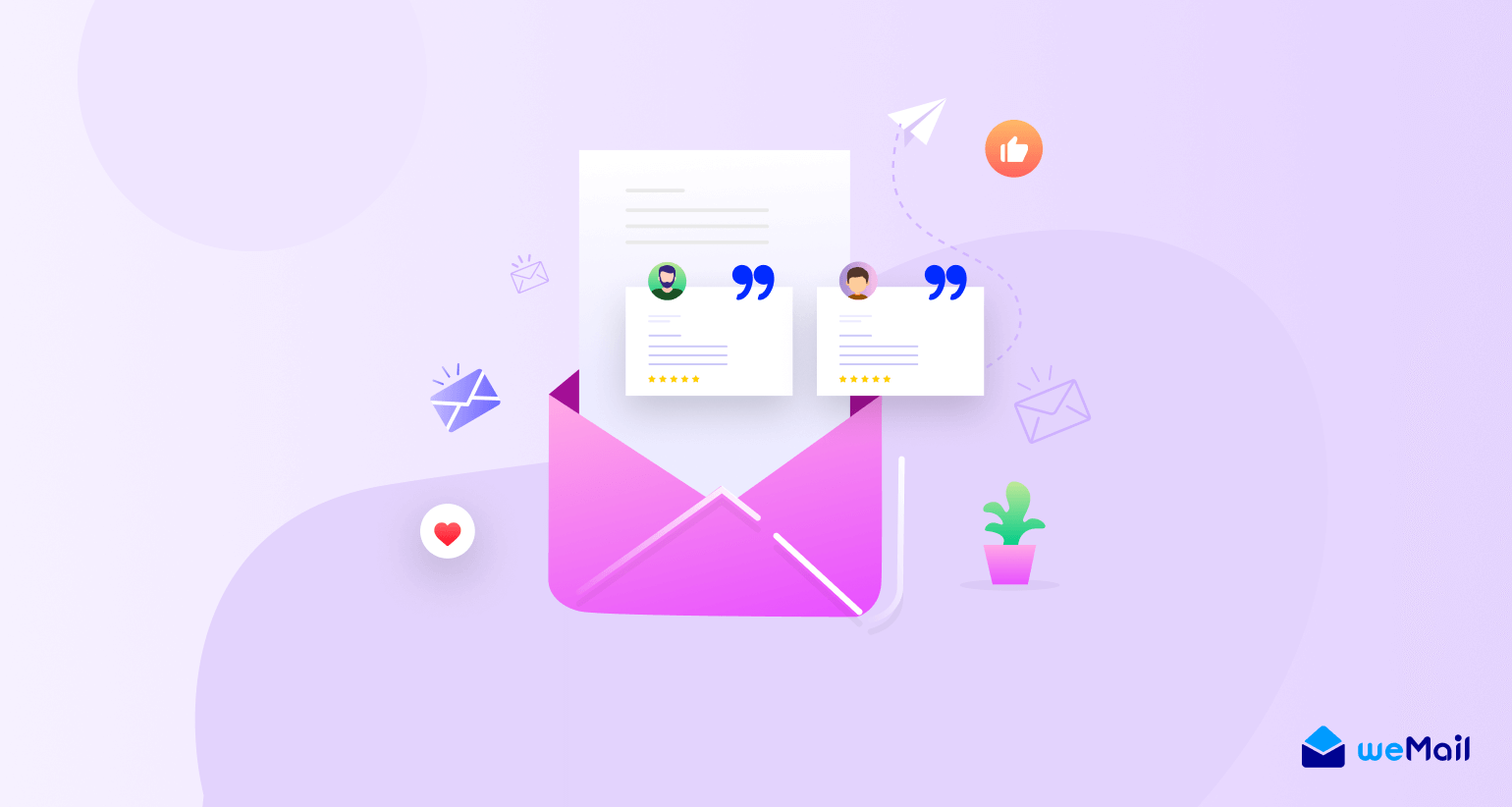 How to use customer testimonials in your emails